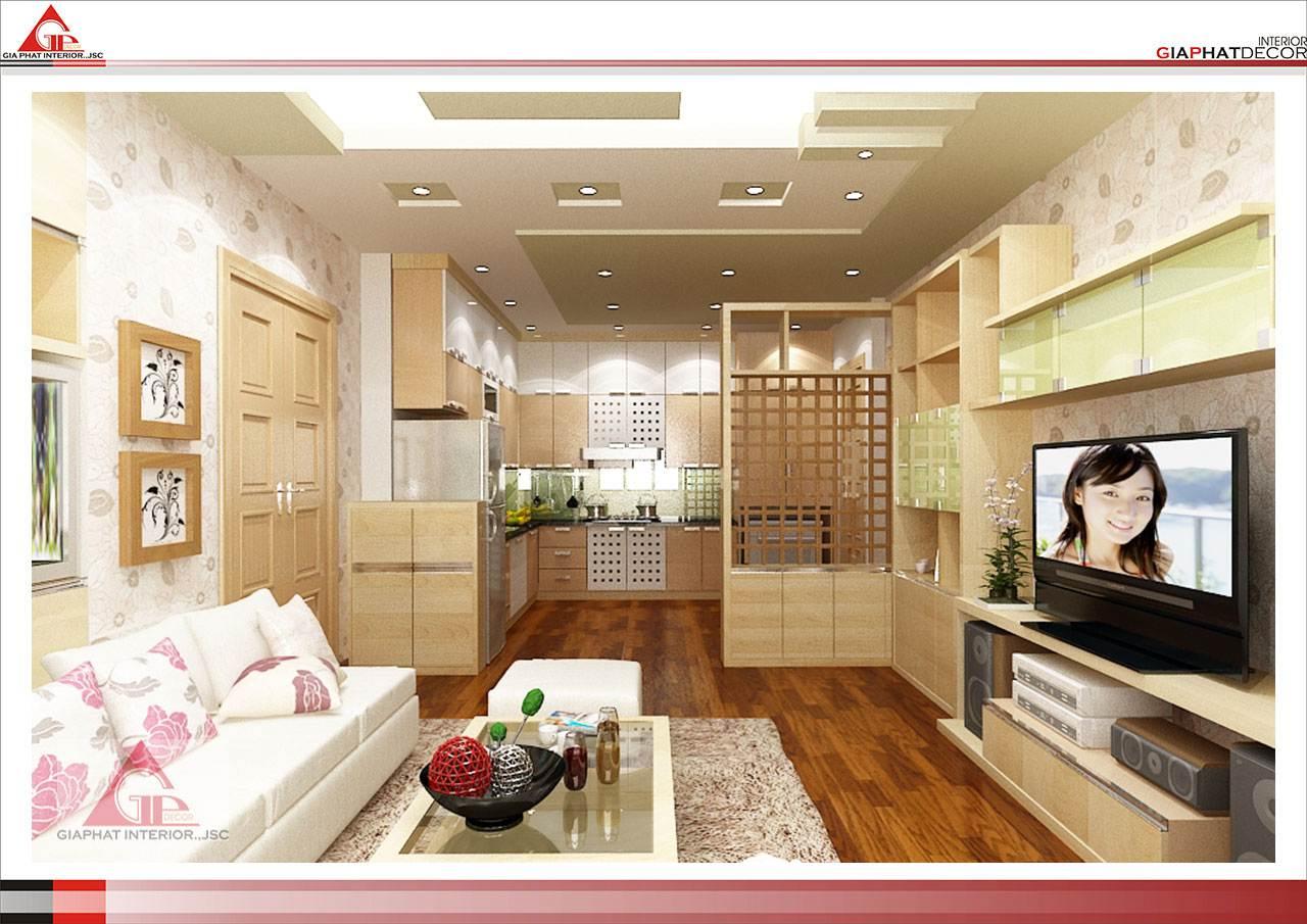 Thiết kế, thi công nội thất chung cư đẹp, hiện đại tại Hà Nội