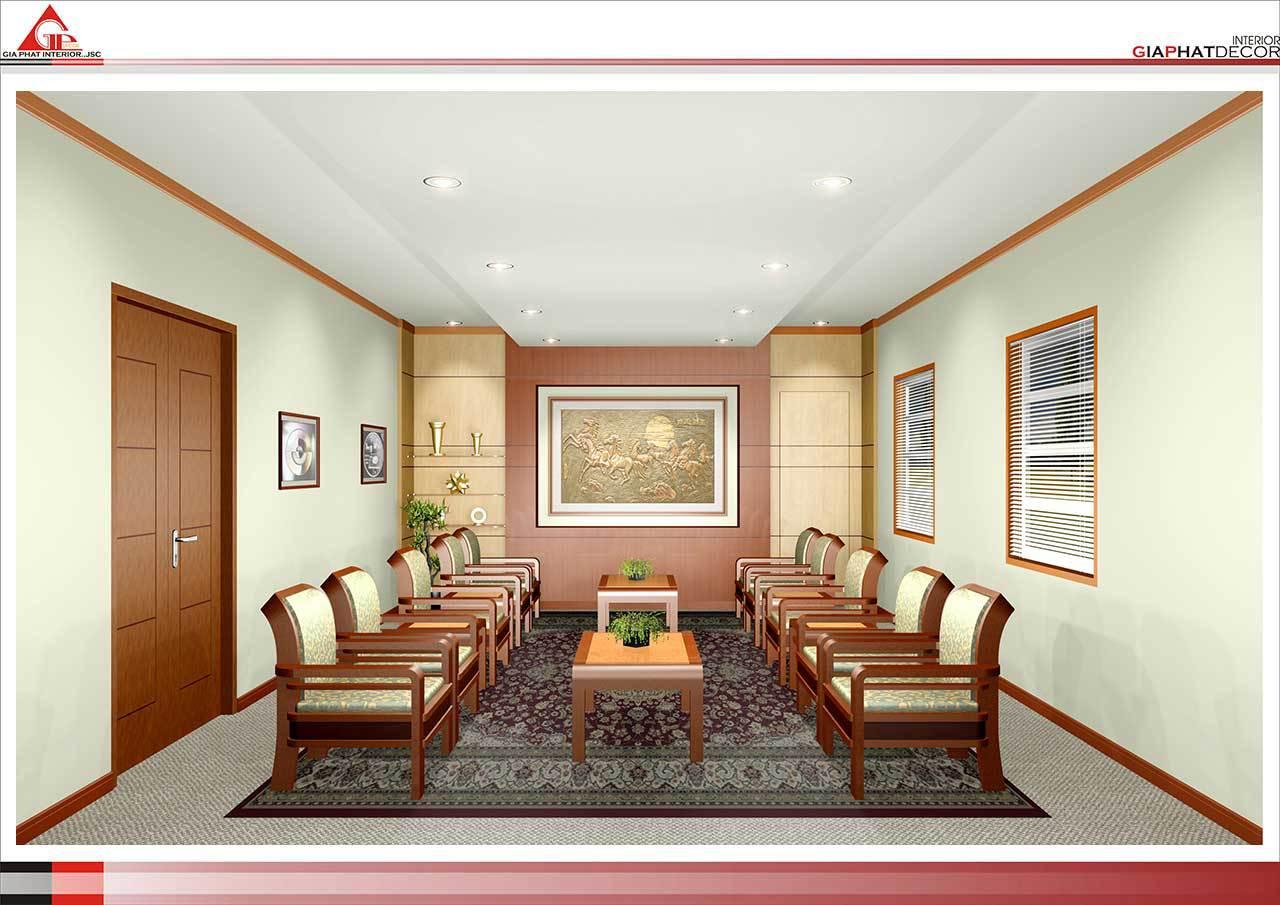 Thiết kế, thi công nội thất văn phòng Công ty Trung Thành - Thái Nguyên