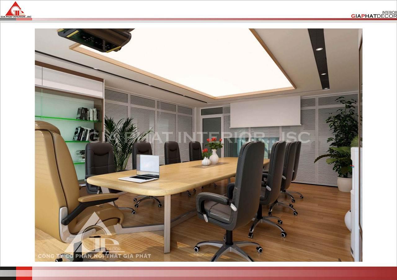 Thiết kế, thi công nội thất văn phòng Công ty Anh Đạo