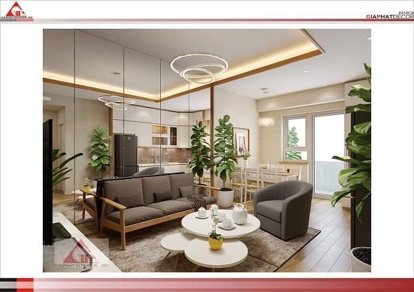 Thiết kế nội thất chung cư đẹp chuẩn 2020